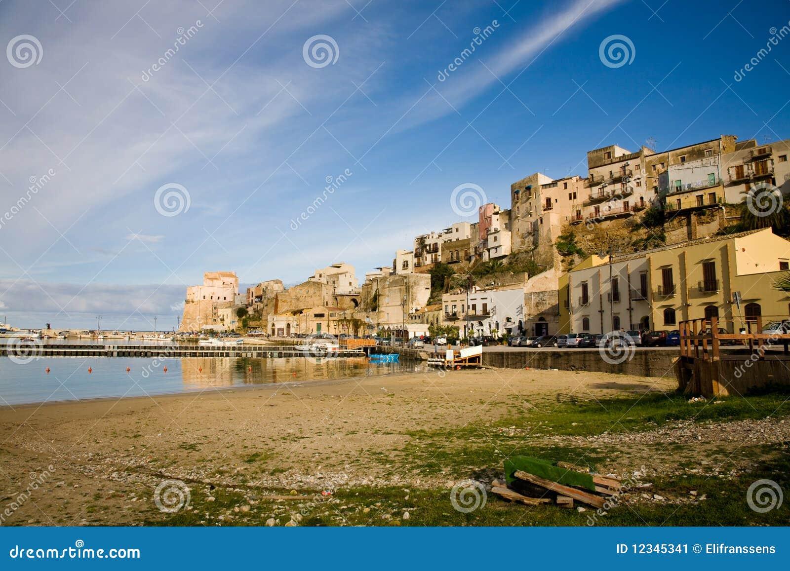 Castellammare del Golfo Italy  city photo : ... Castellammare del Golfo in the province of Trapani in Sicily, Italy