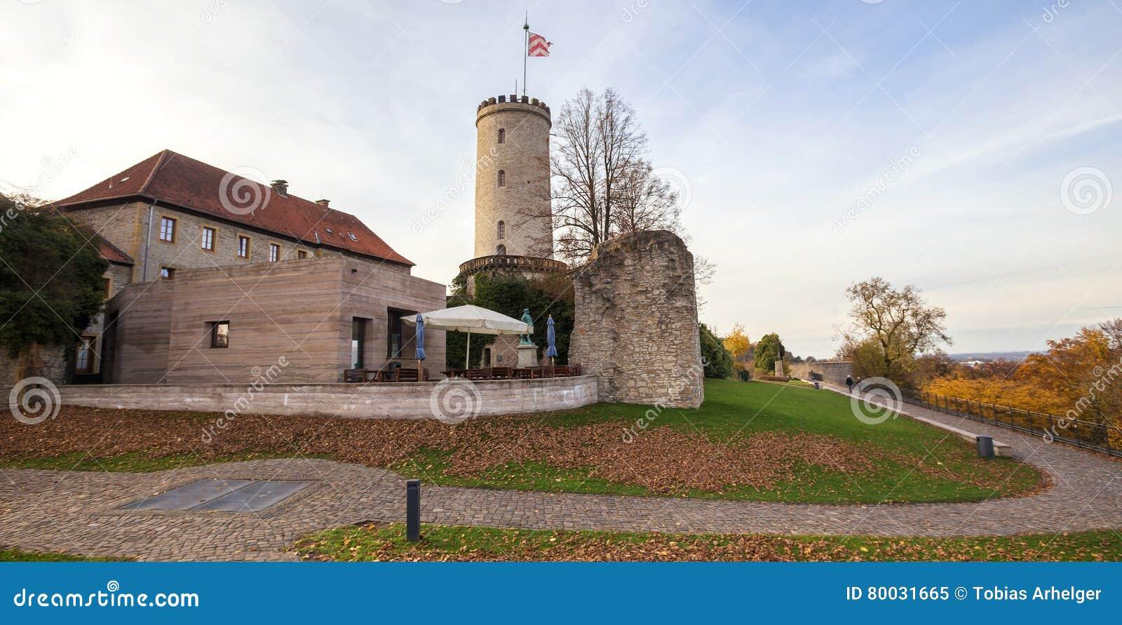 Castello Bielefeld Germania di Sparrenburg