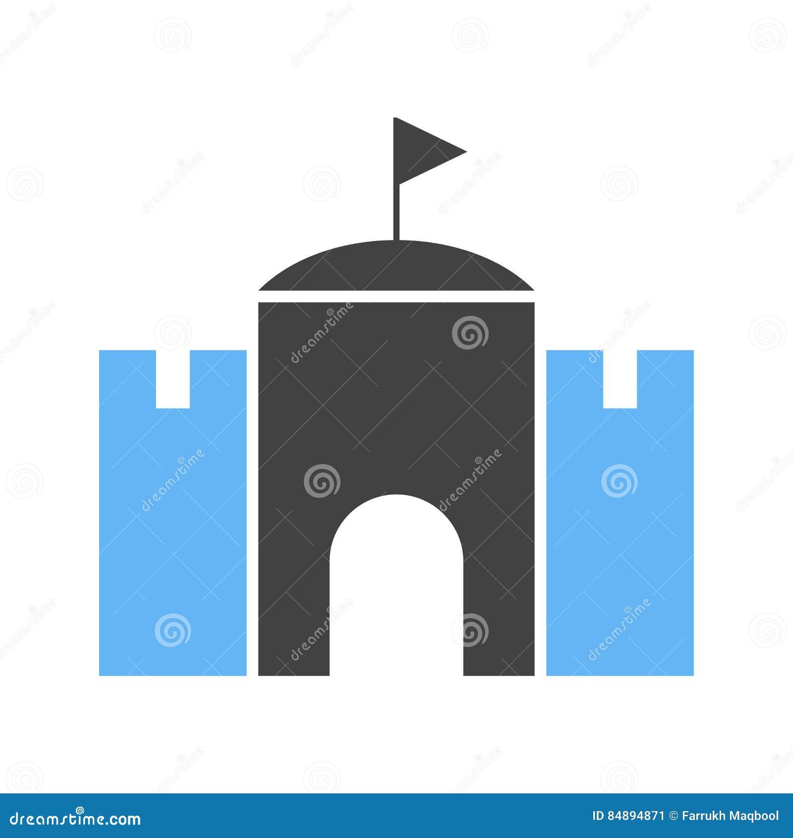 Castello con la bandiera