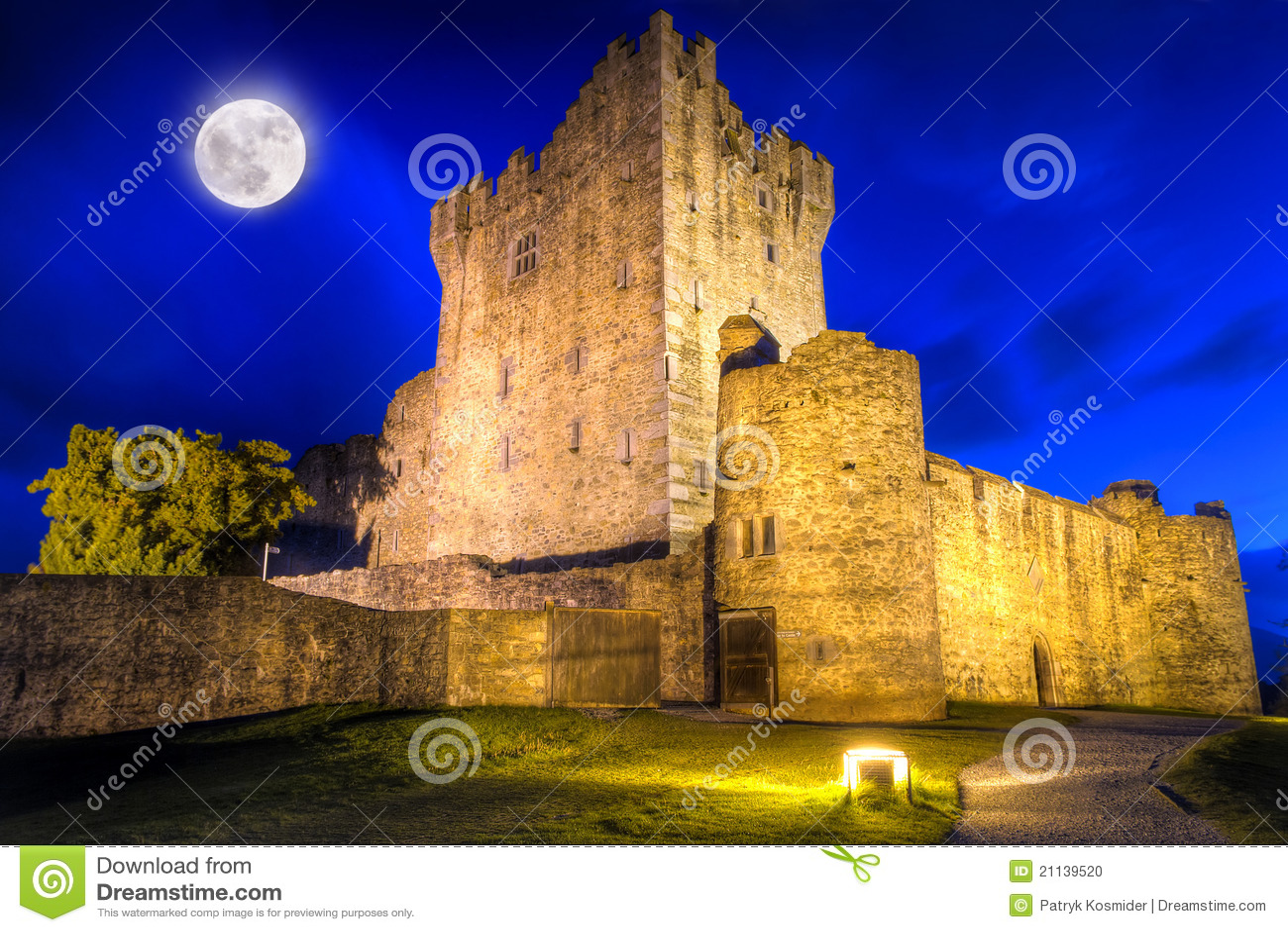 Castello del Ross alla notte