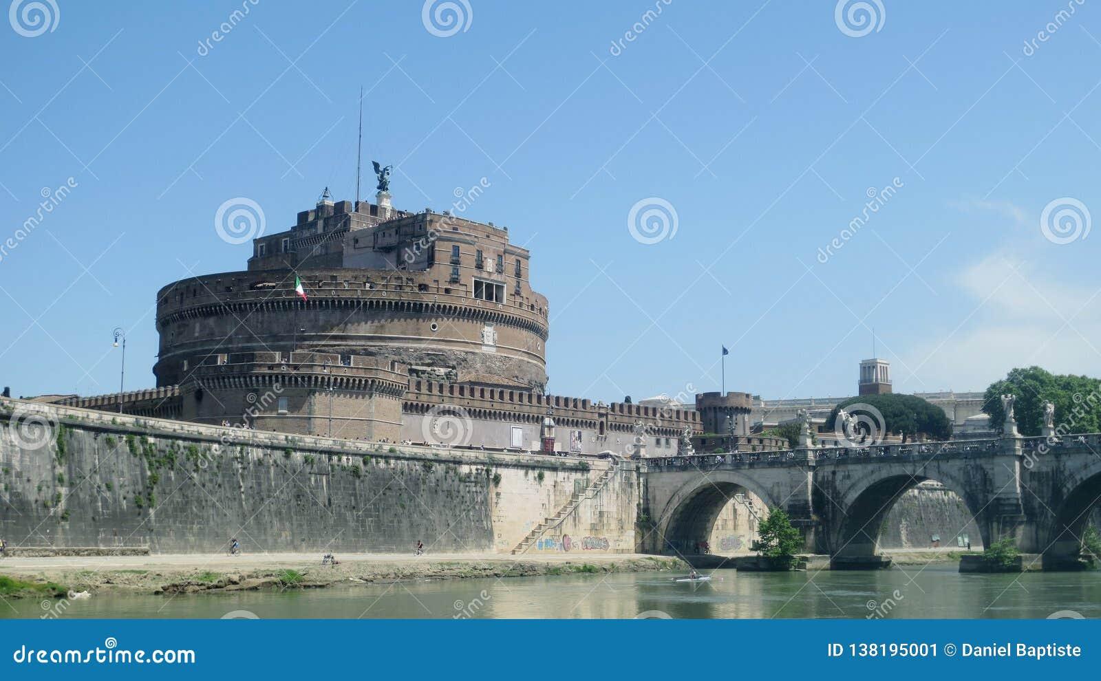 Castello dell angelo Roma del san