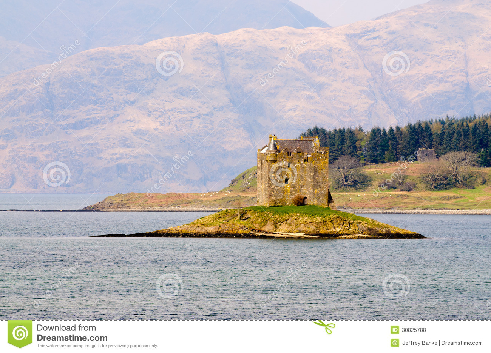 Castello dell inseguitore in Scozia