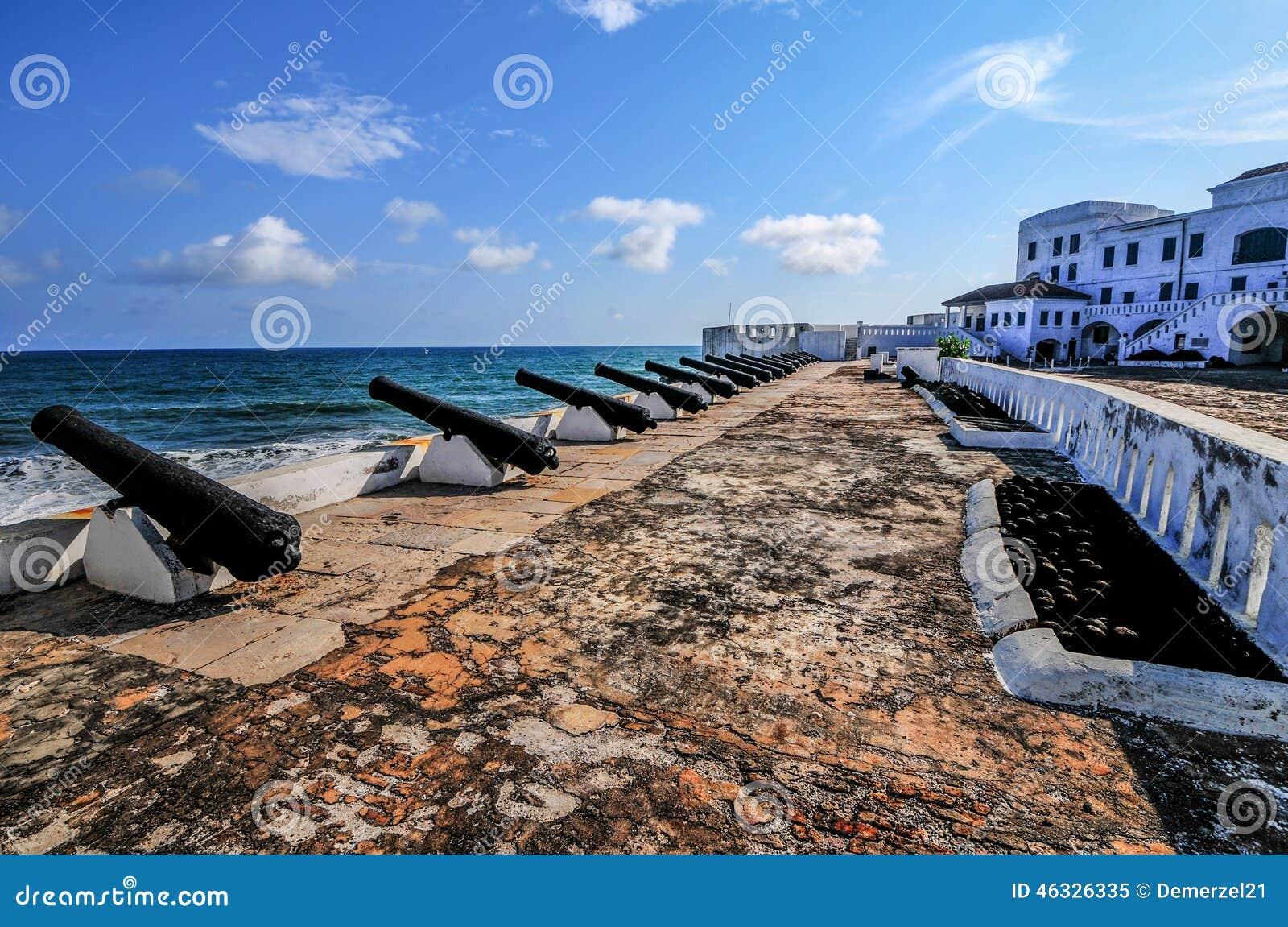Castello della costa del capo - Ghana
