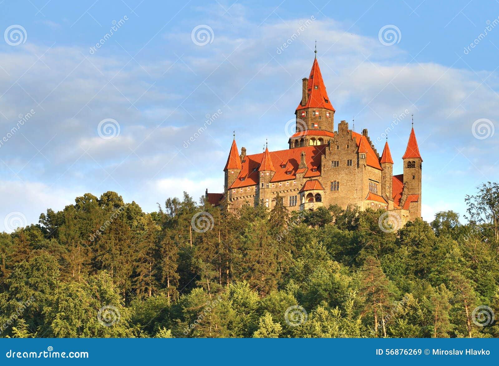 Castello di Bouzov in repubblica Ceca