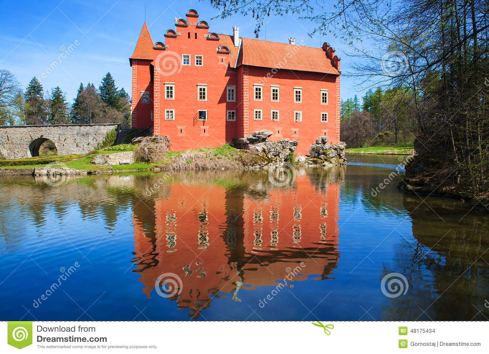 Castello di Cervena Lhota, Repubblica ceca