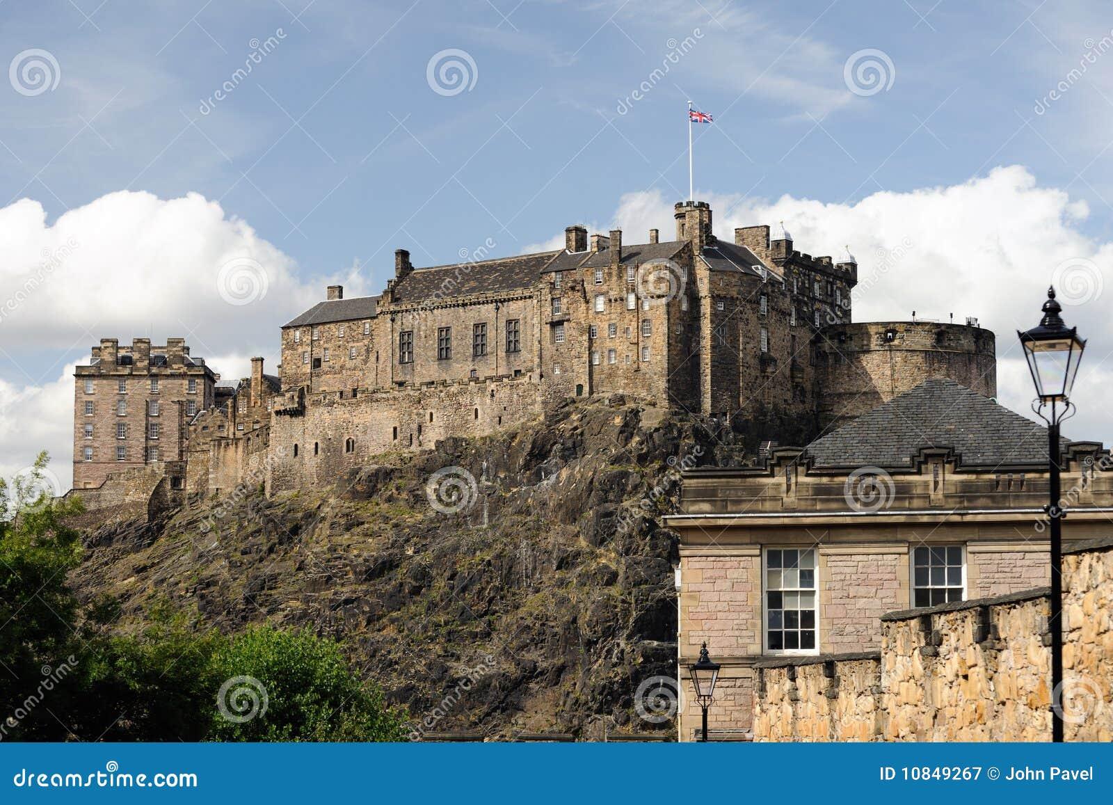Castello di Edinburgh dal sud
