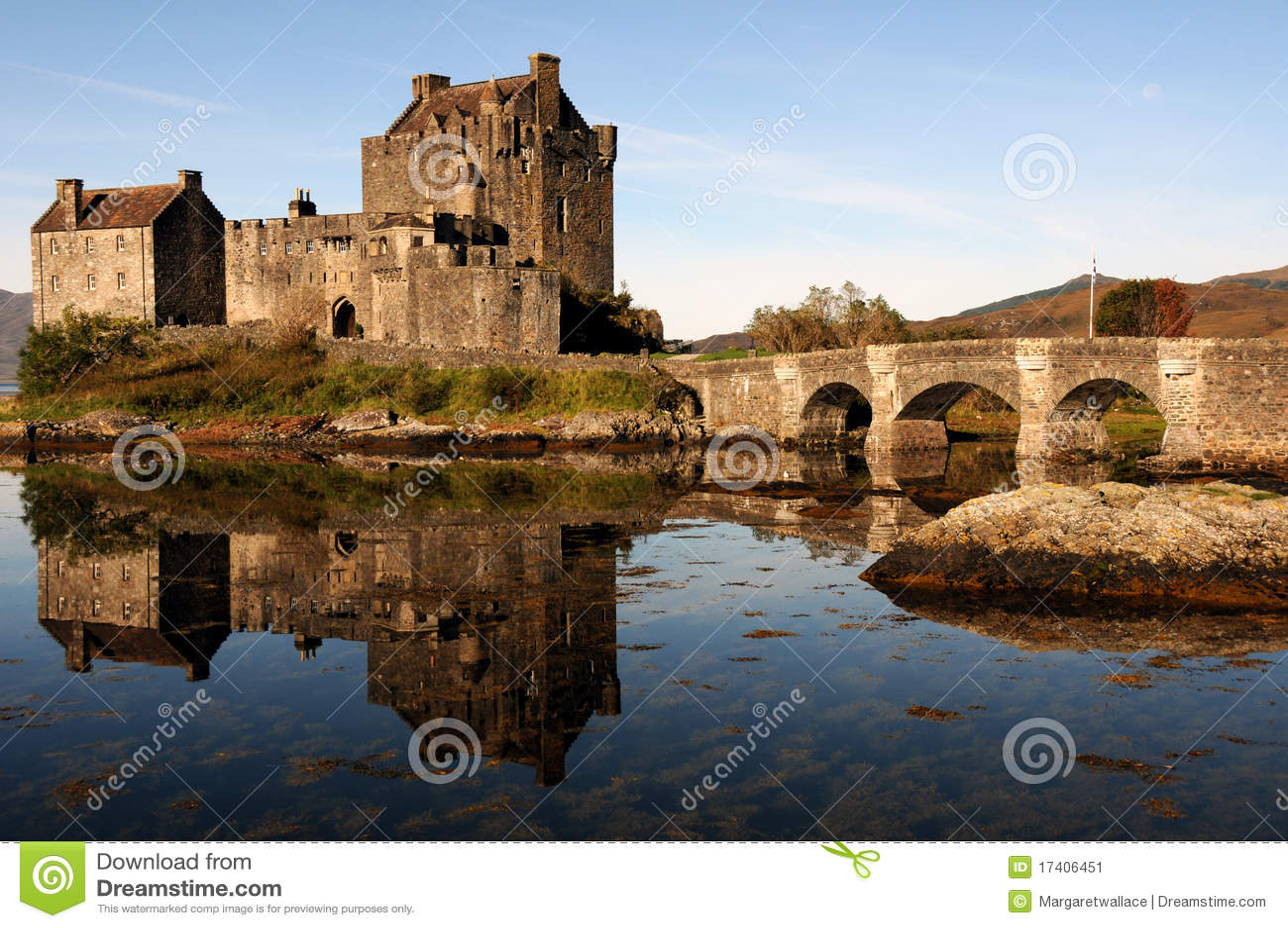 Castello di Eilean Donan, Scozia.
