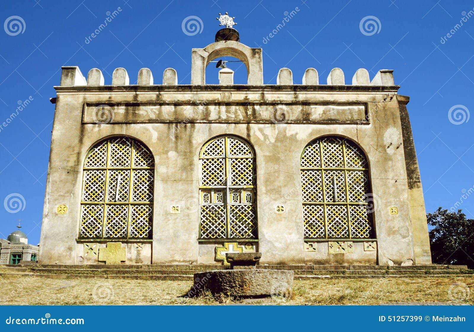 Castello di Fasil Fasil Ghebbi situato in Gondar, Etiopia