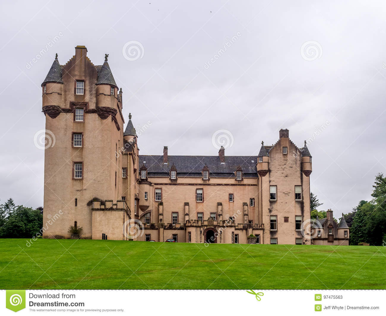 Castello di Fyvie in Scozia