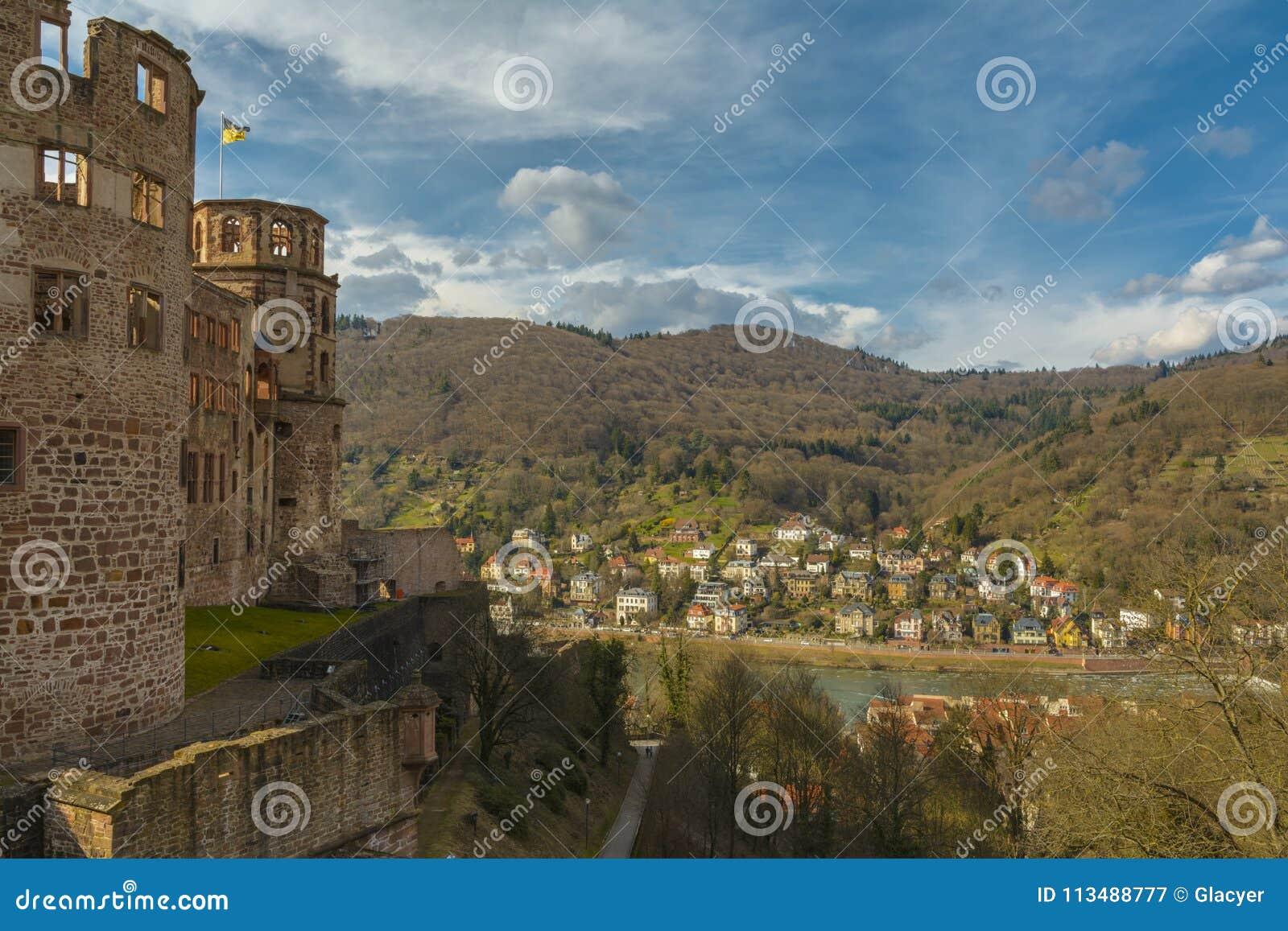 Castello di Heidelberg, Baden-Wurttemberg, Germania