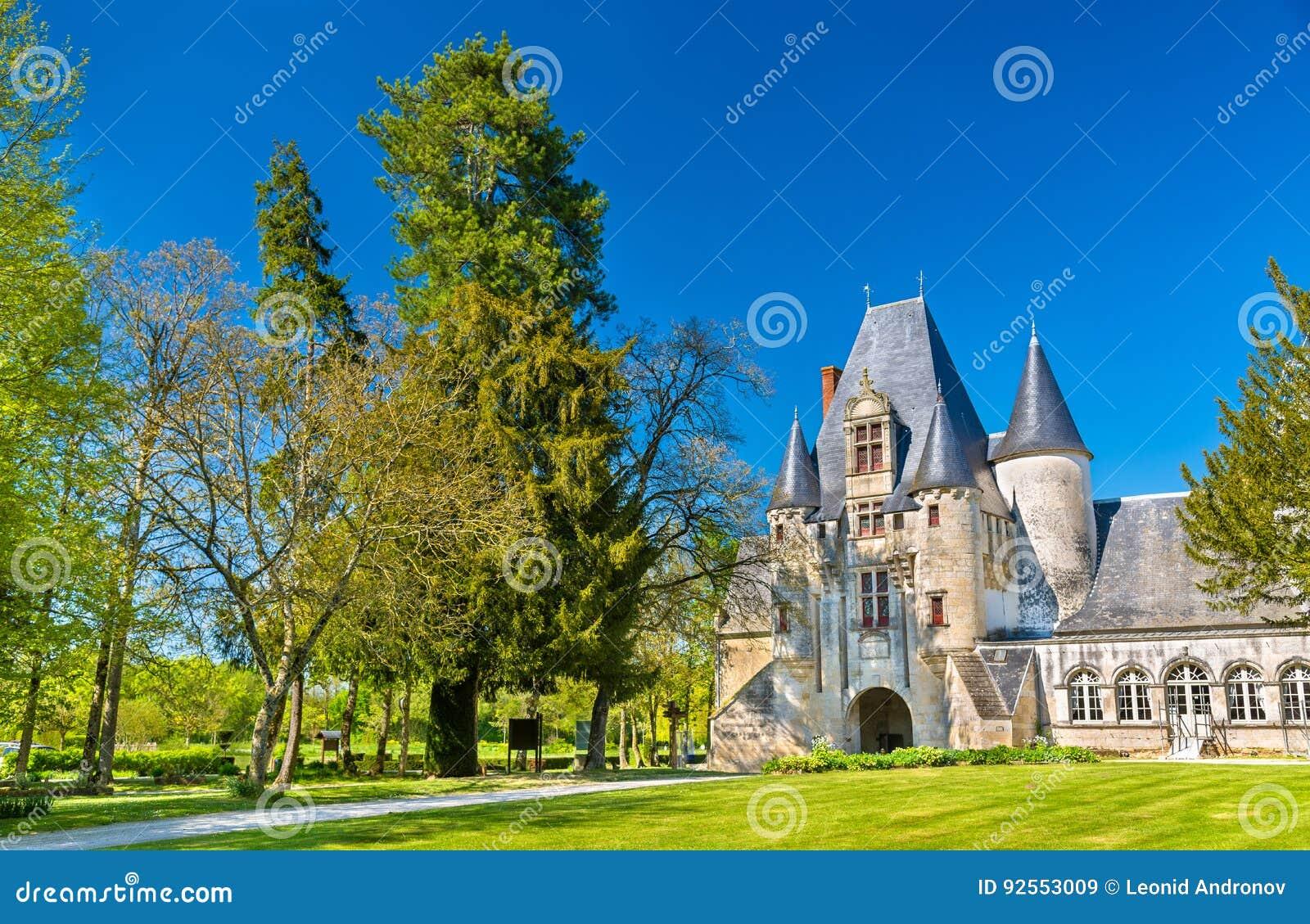 Castello di Javarzay in cuoco unico-Boutonne - Deux-Sevres, Francia