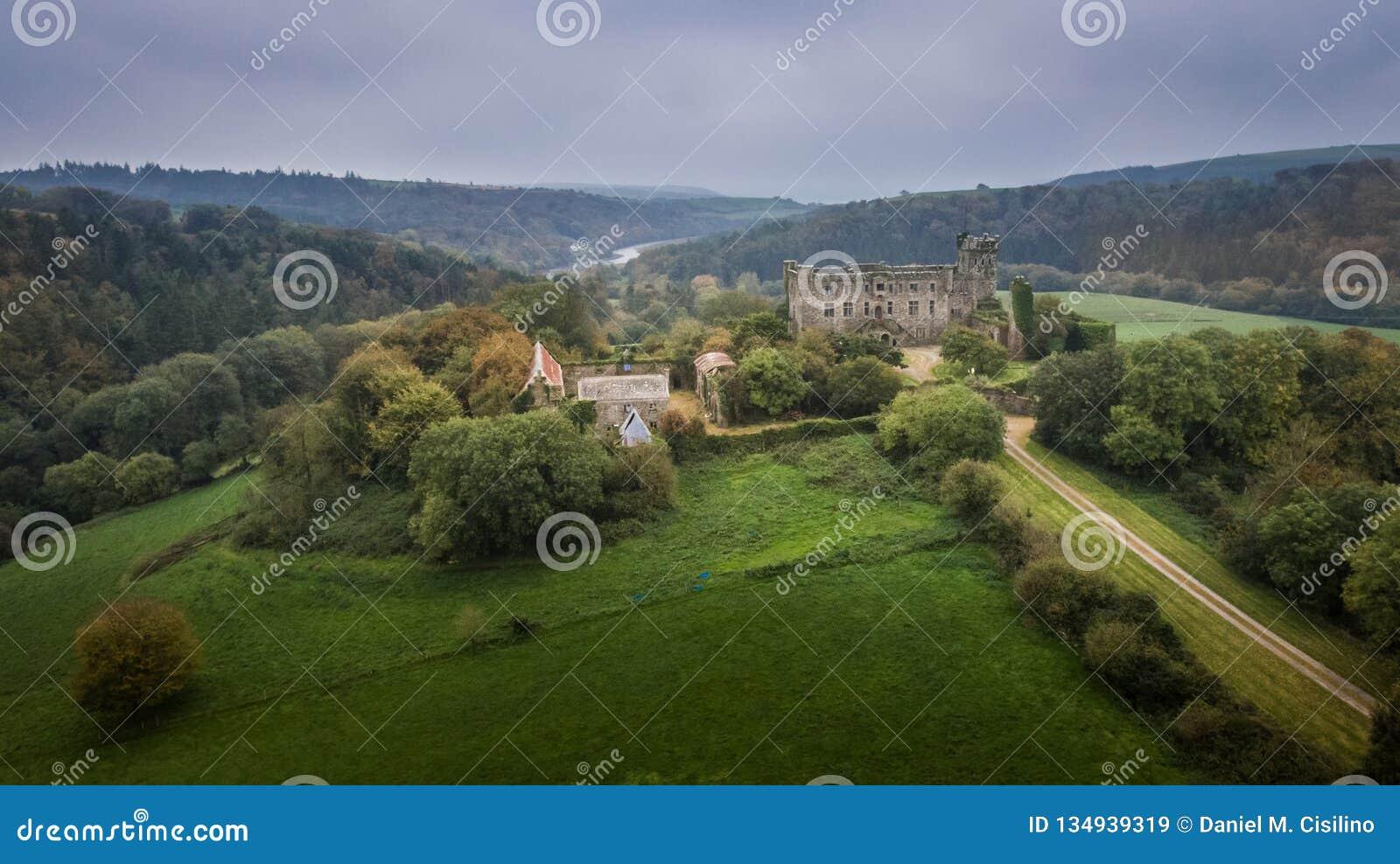 Castello di Kilbrittain Sughero della contea l irlanda