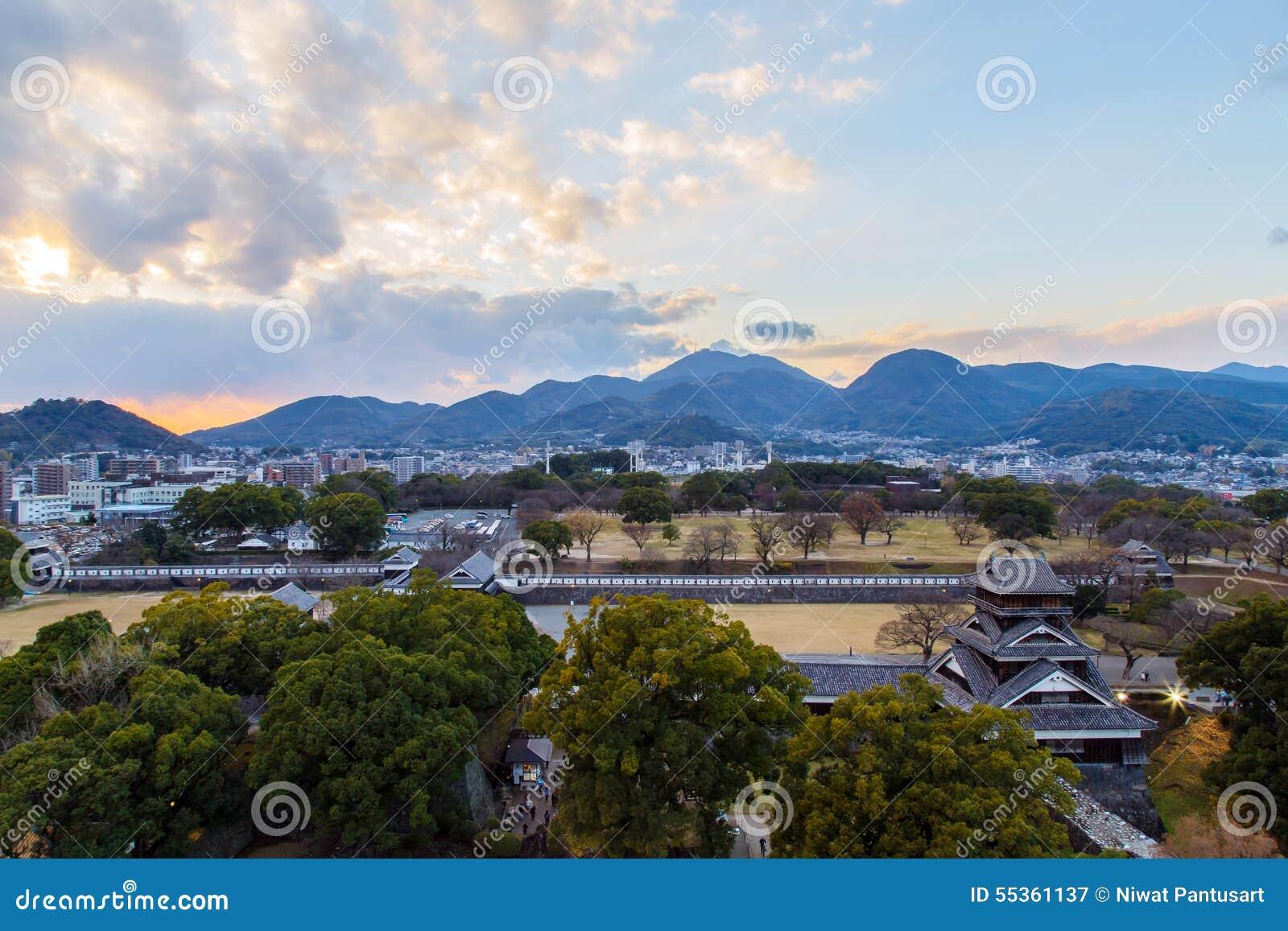Castello di Kumamoto, Giappone, Kumamoto - 6 dicembre 2014