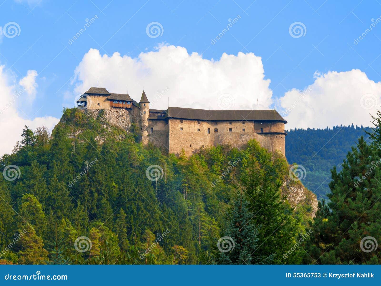 Castello di Oravsky in Slovacchia
