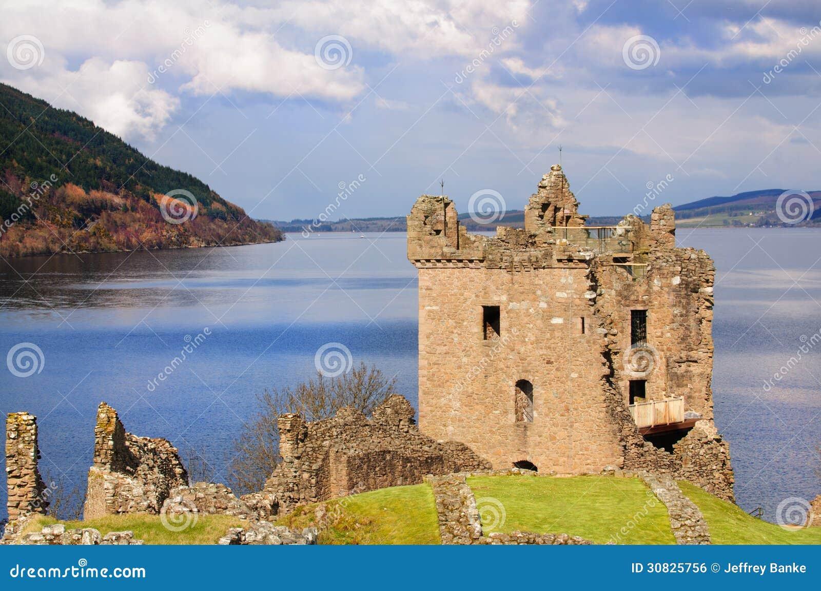 Castello di Urquhart in Scozia