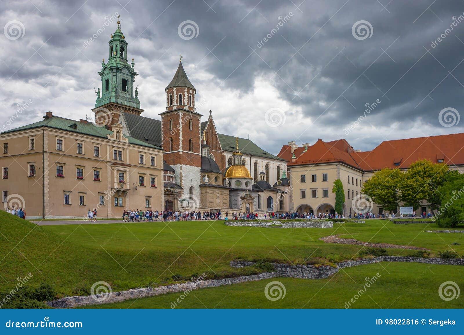 Castello di Wawel a Cracovia