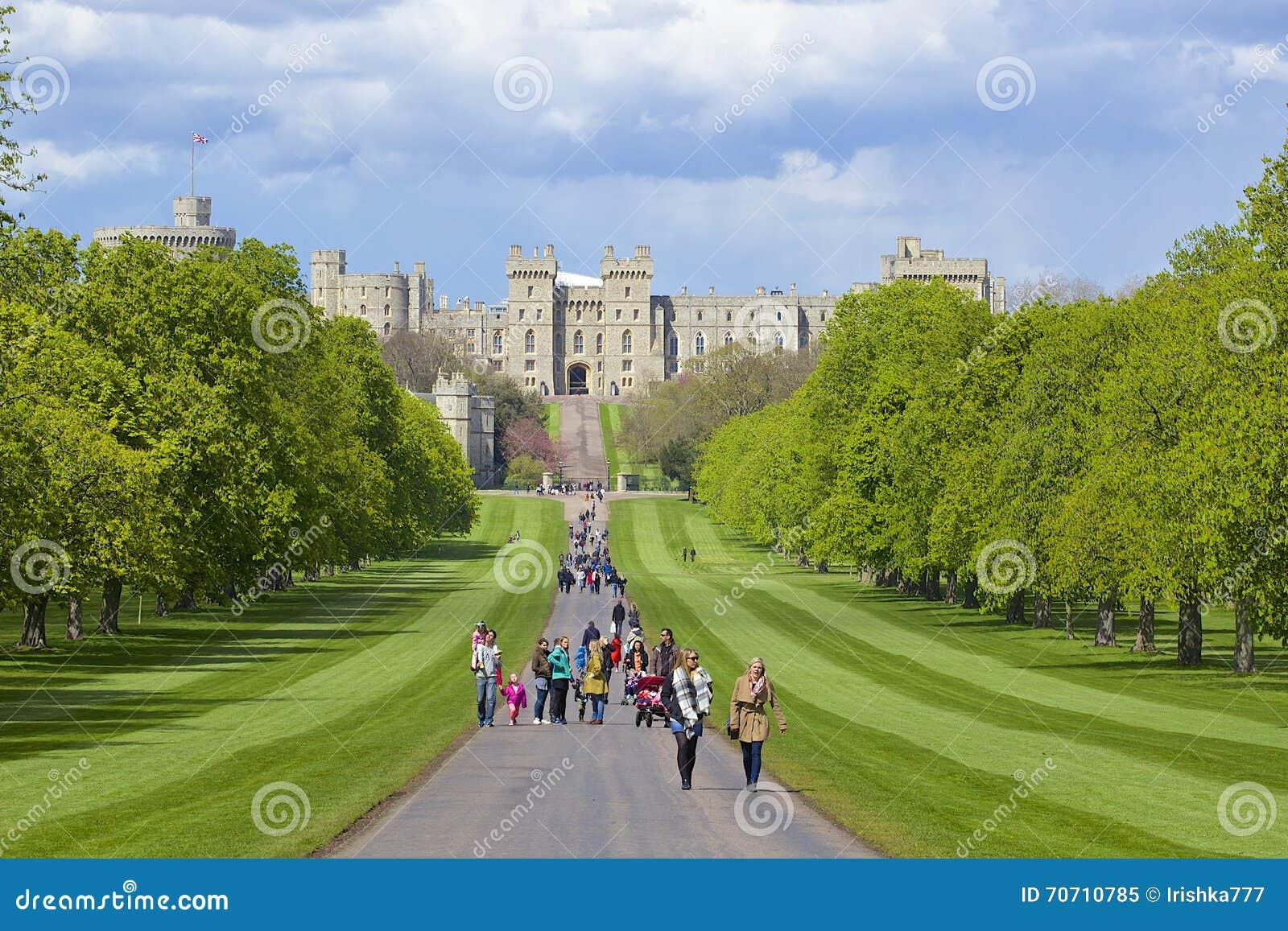 Castello di Windsor e parco di grande, Inghilterra