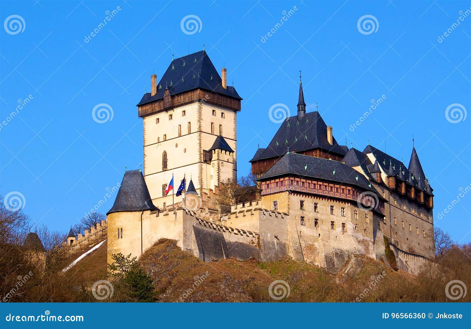 Castello Karlstejn in repubblica Ceca