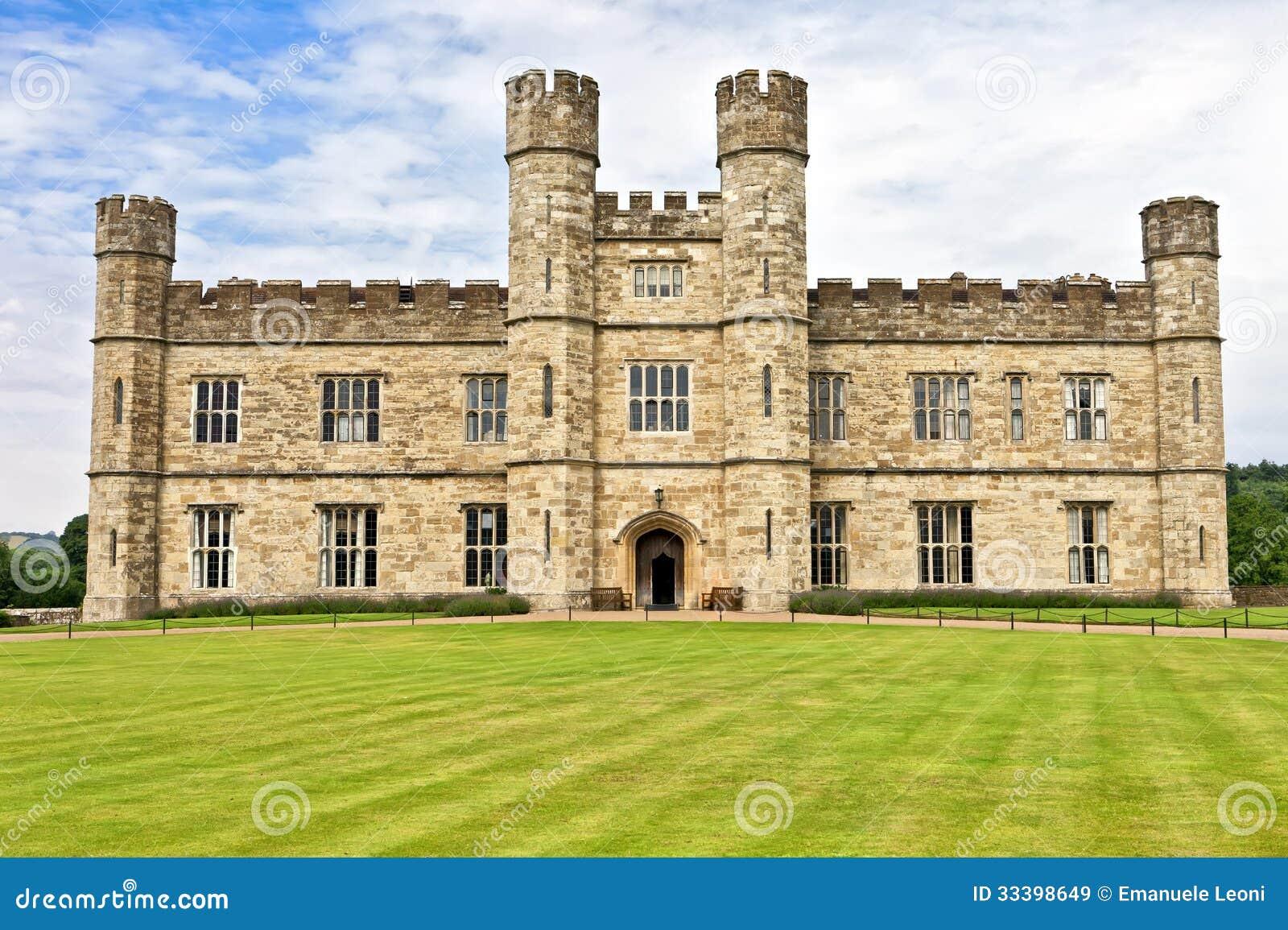 Castello medievale di leeds in prestato in l 39 inghilterra for Piani di casa castello medievale