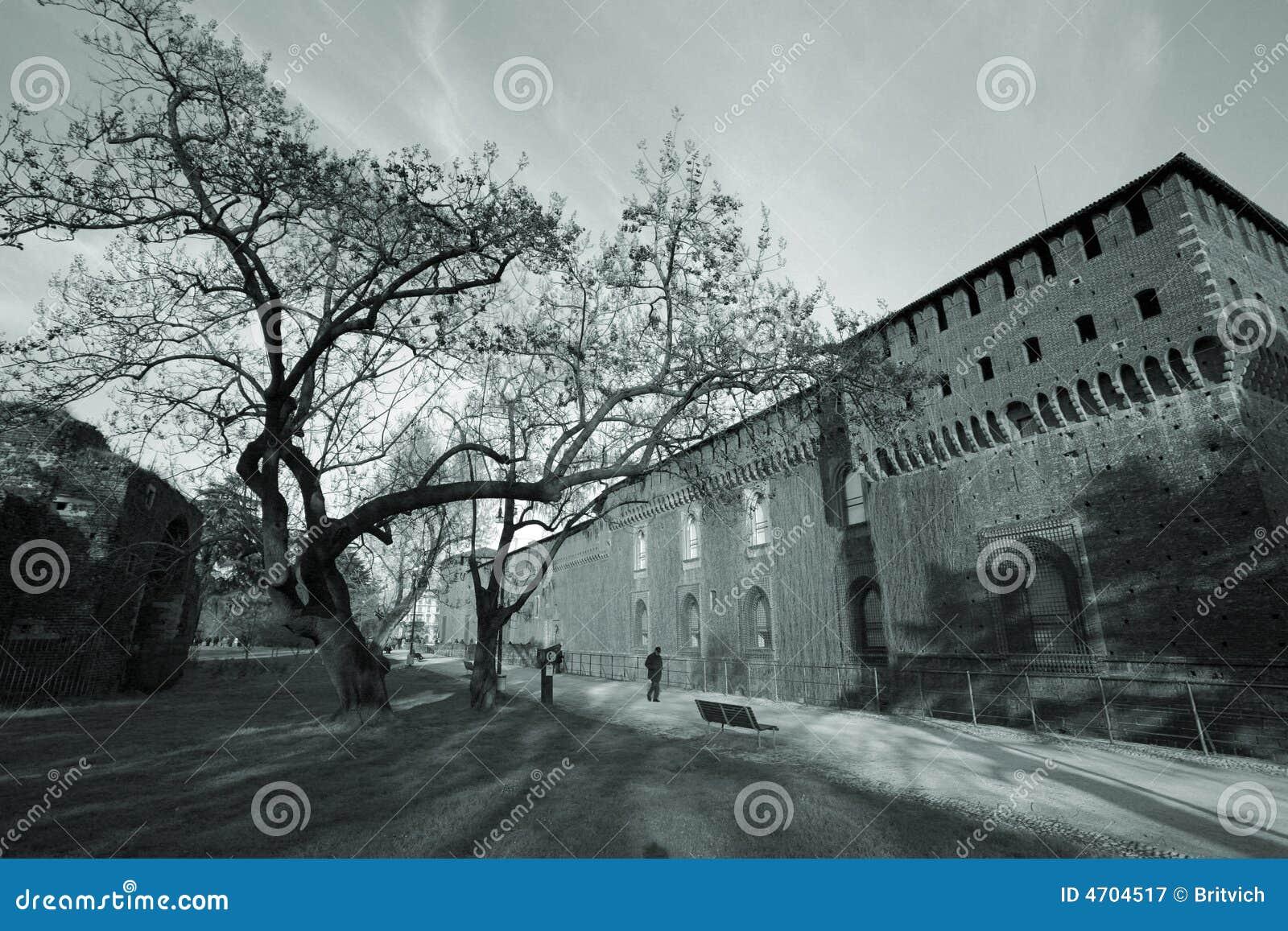 Castello a Milano