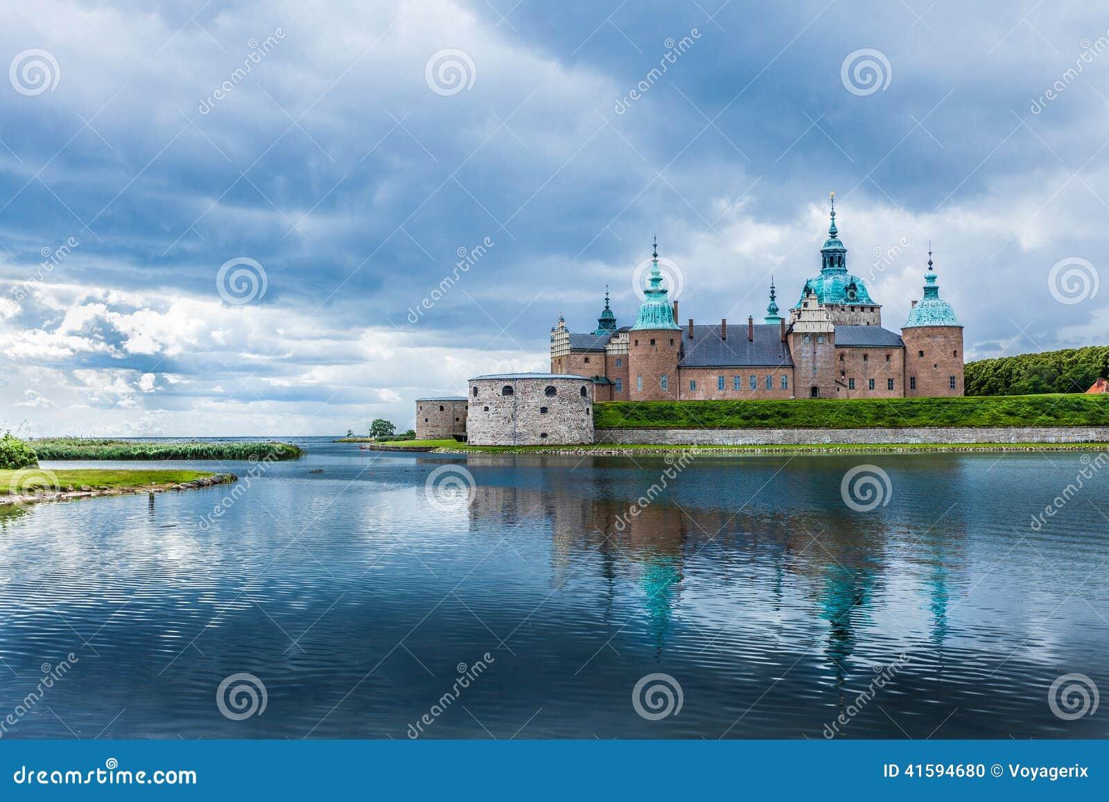 Castello storico di Kalmar in Svezia Scandinavia Europa limite