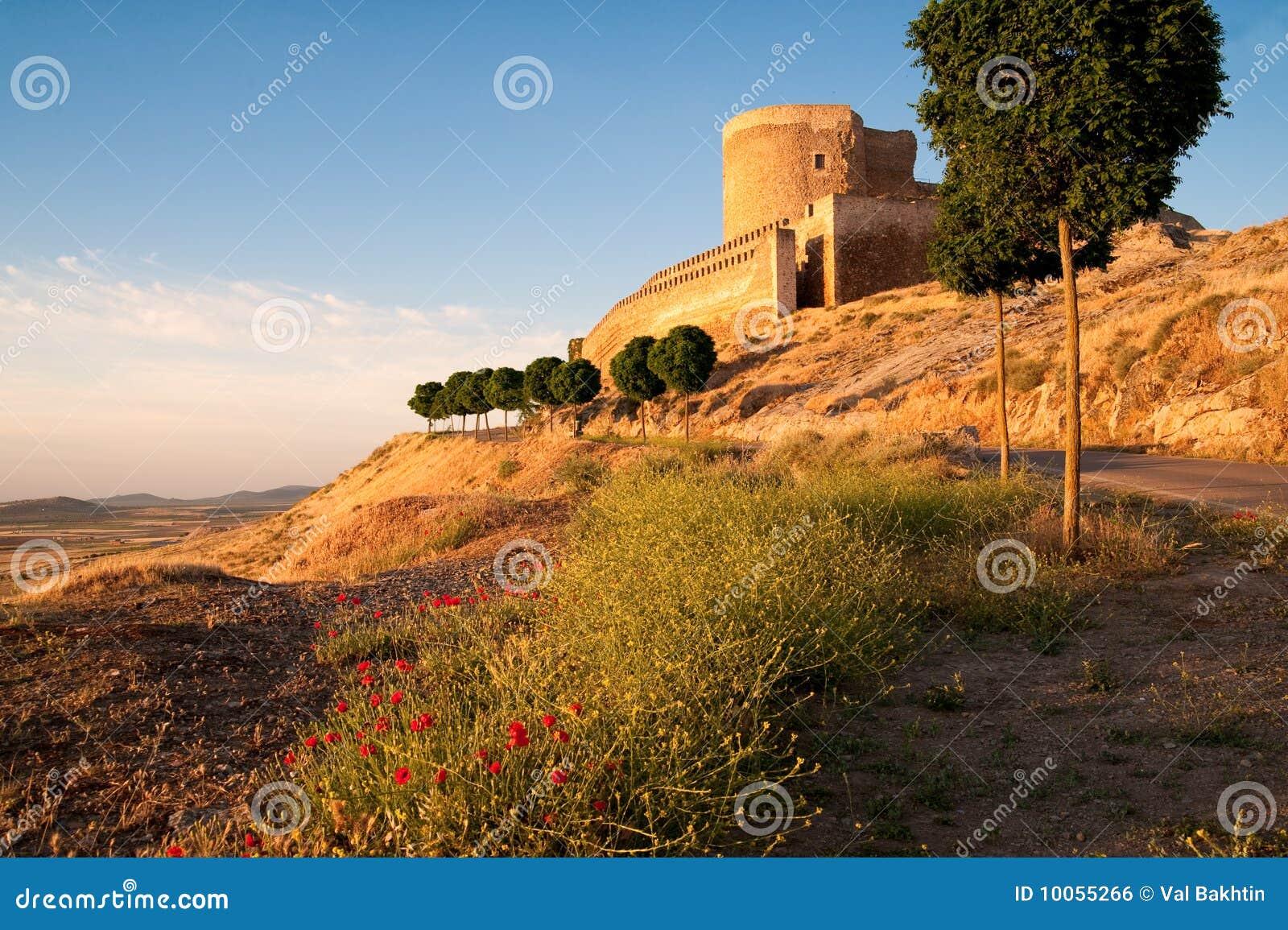 Castelo arruinado velho