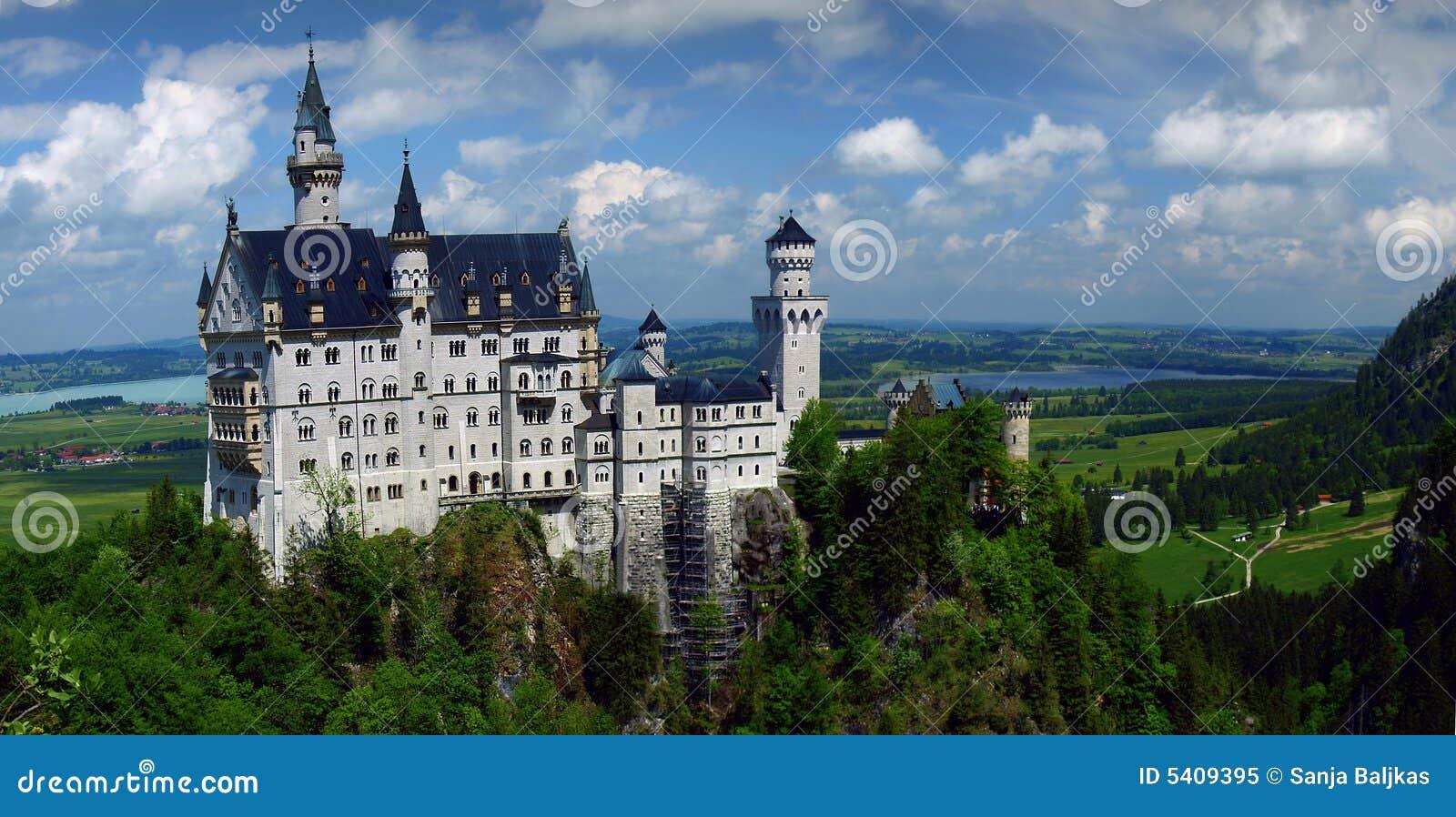 Castelo bávaro - castelo de Neuschwanstein