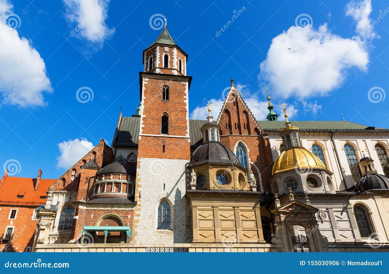 Castelo da catedral de Wawel, Krakow, Polônia