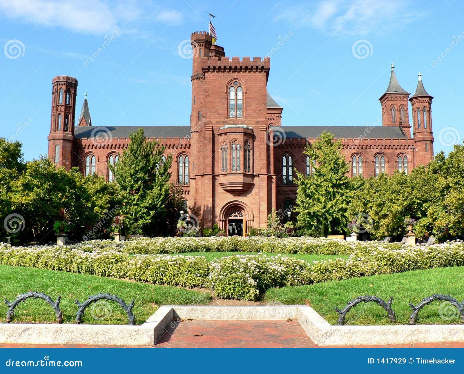 Castelo da instituição de Smithsonian