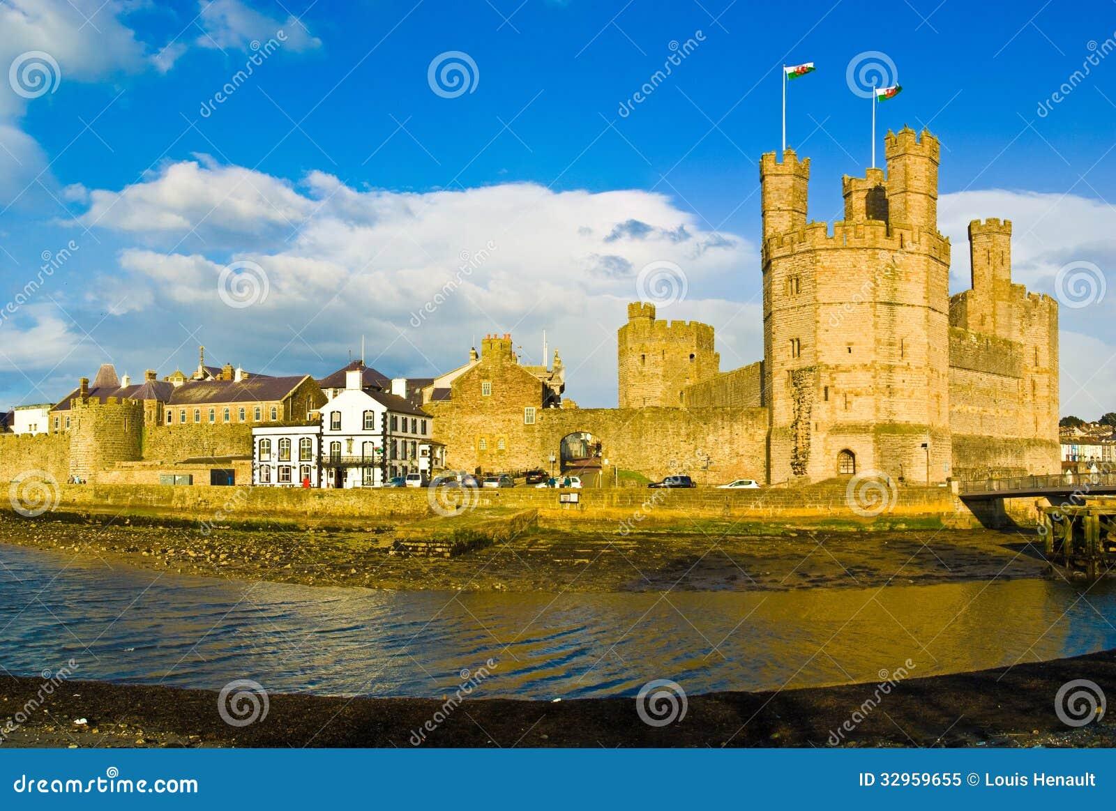 Castelo de Caernarfon, Gales