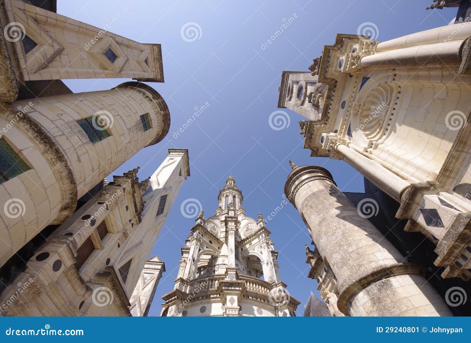Download Castelo de Chambord imagem de stock. Imagem de exterior - 29240801