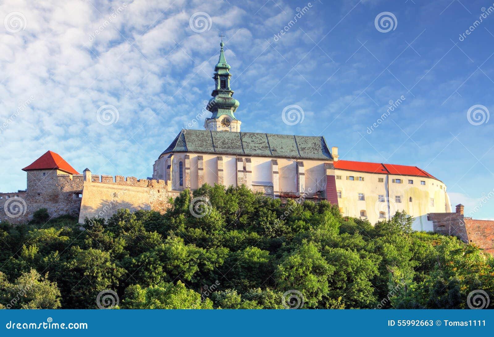 Castelo de Eslováquia - de Nitra