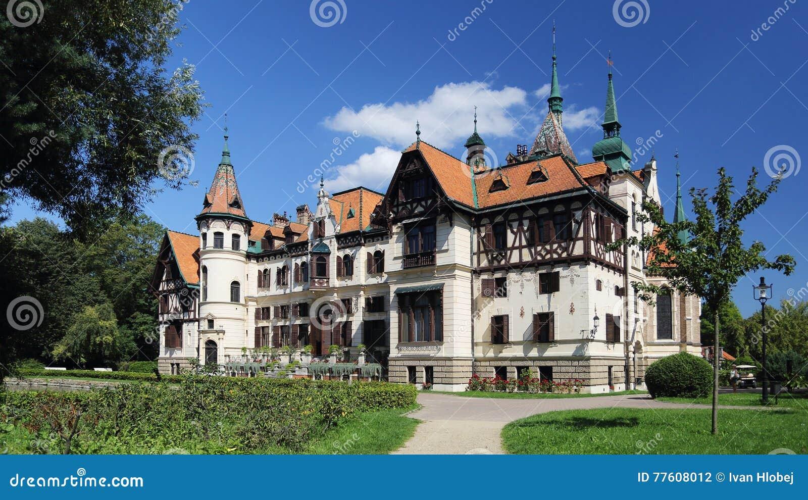 Castelo de Lesna, Zlin, república checa