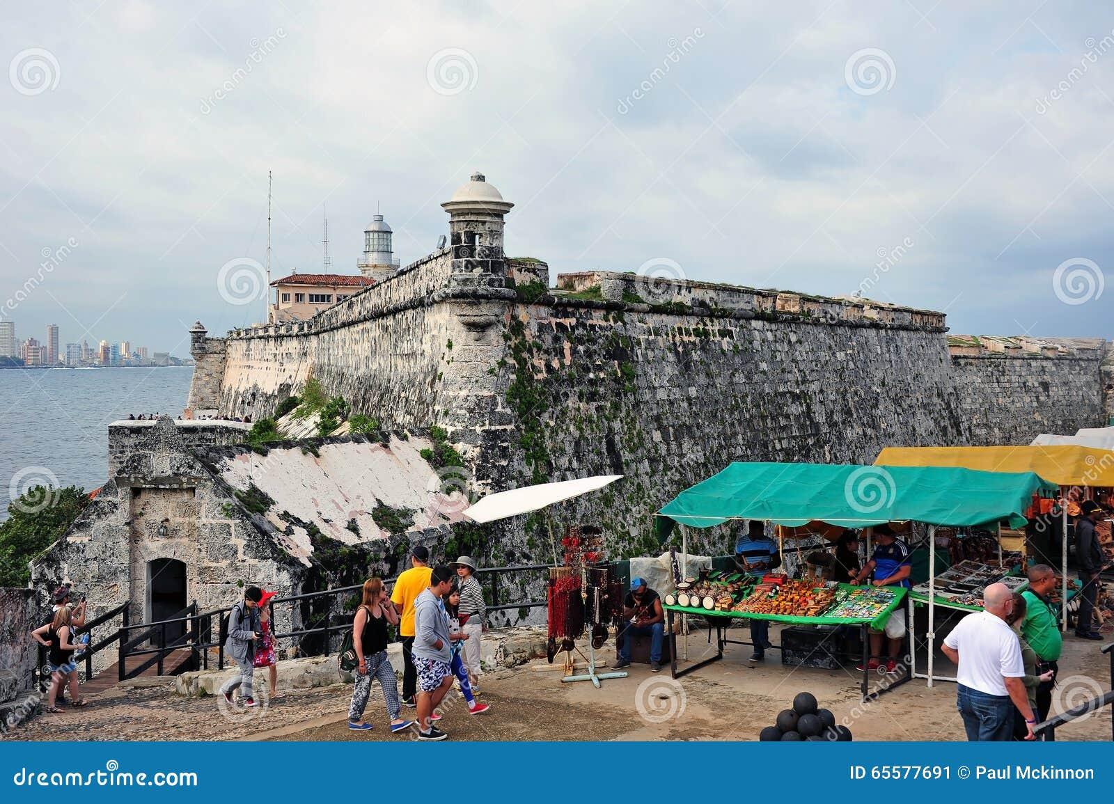 Castelo de Morro em Havana