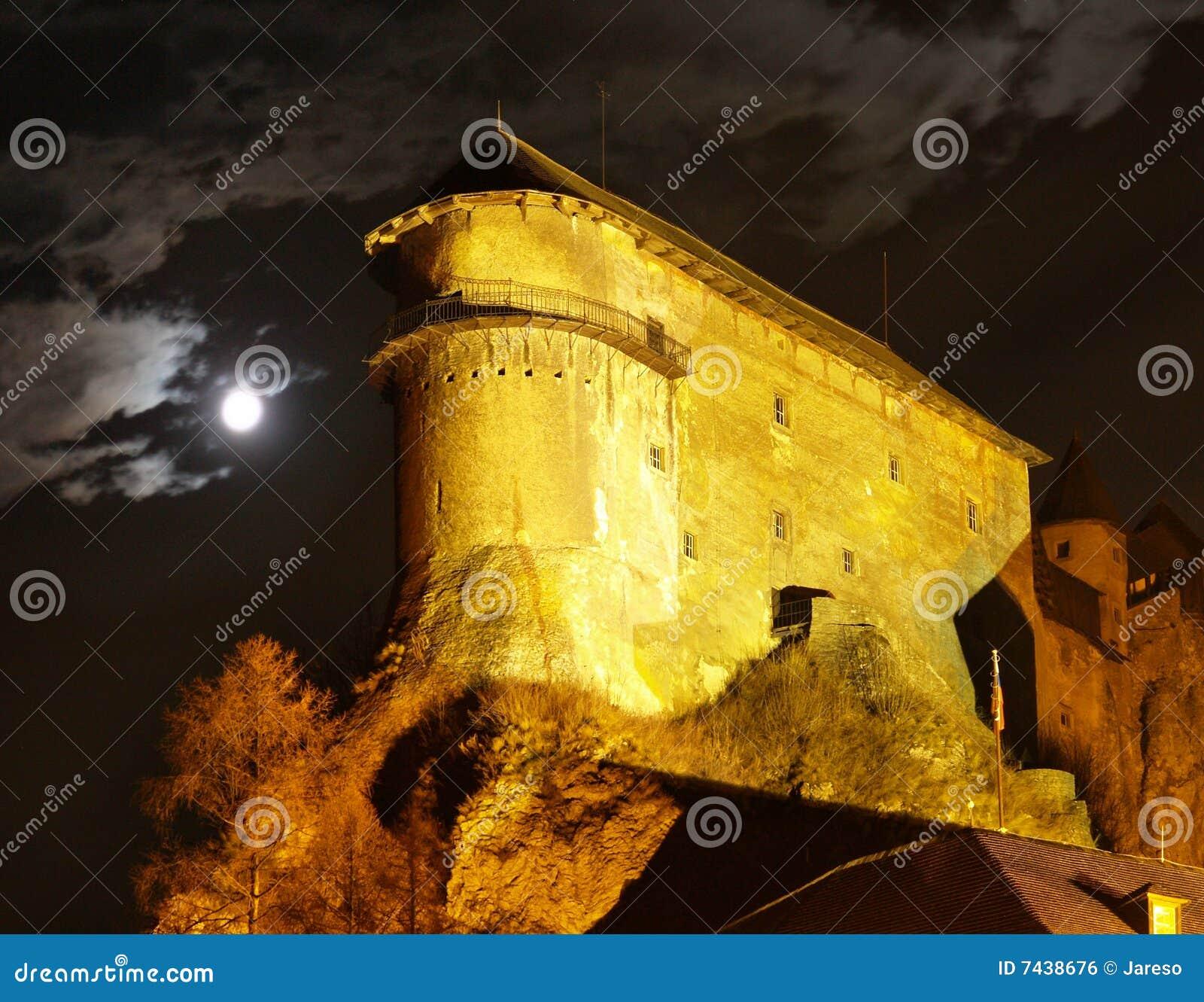 Castelo de Orava - na noite