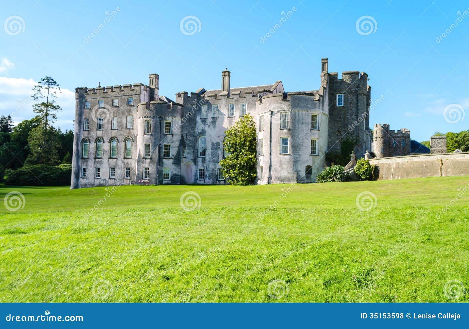Castelo de Picton em Haverfordwest - Gales, Reino Unido