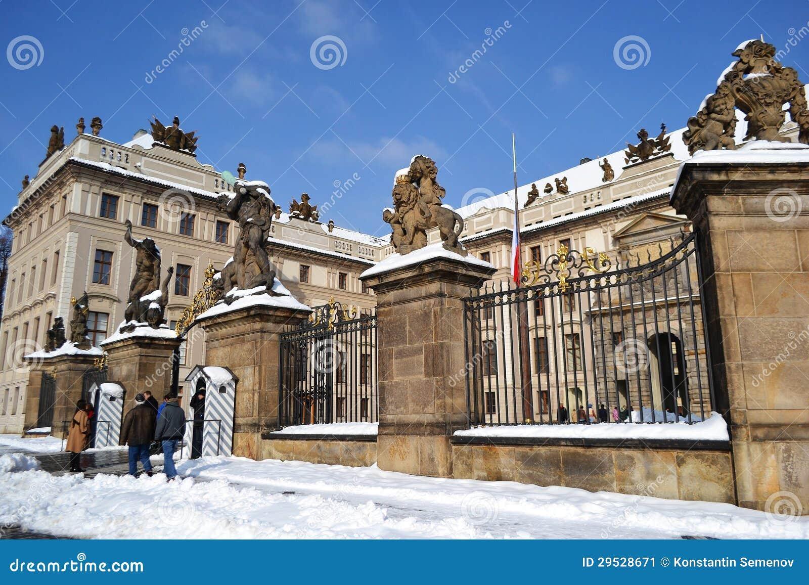 Castelo de Praga do palácio