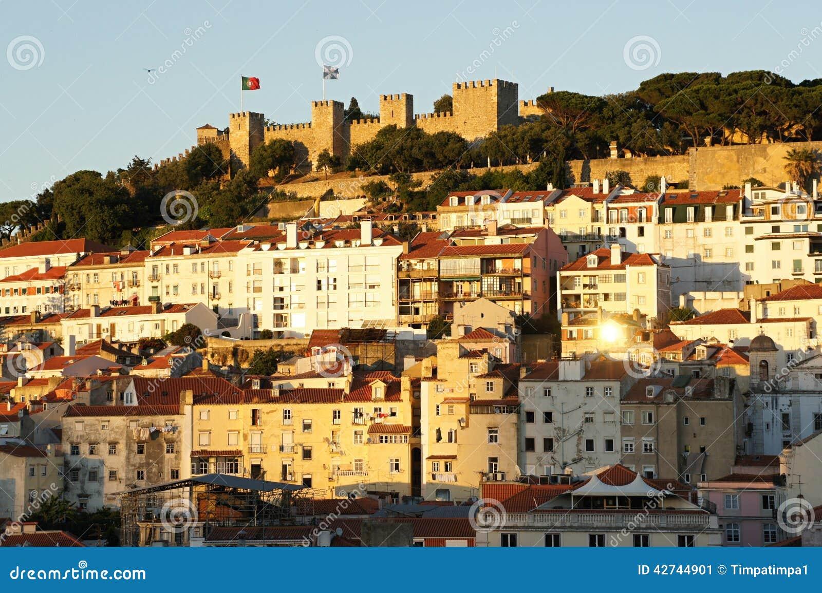 Castelo de Sao豪尔赫在里斯本,葡萄牙