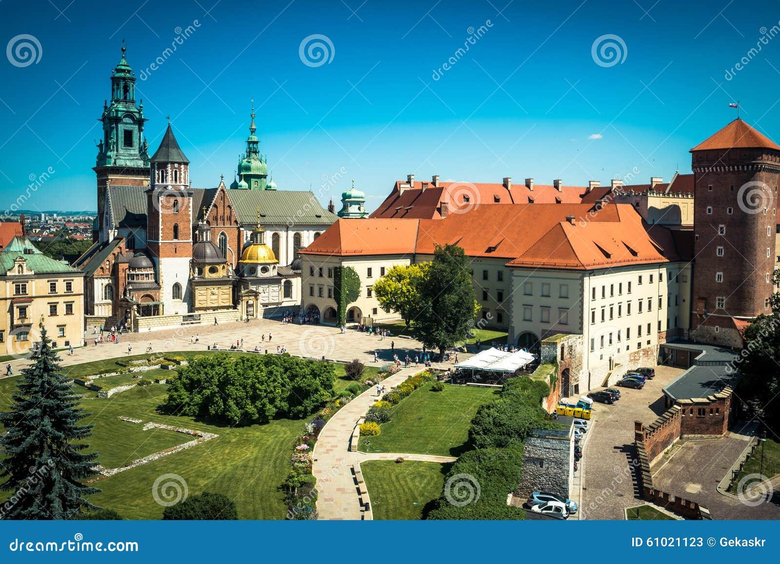 Castelo de Wawel em Krakow