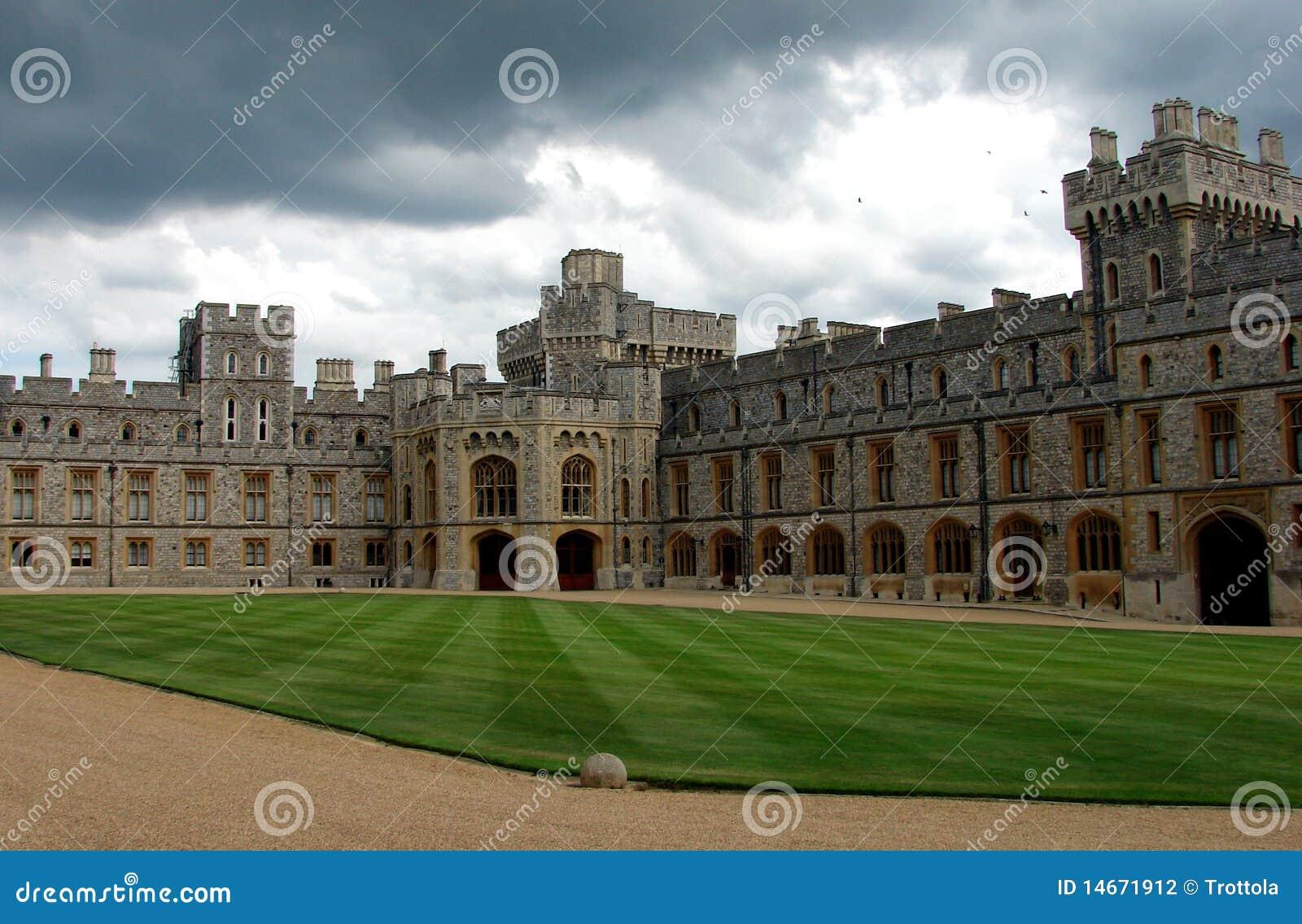 Castelo de Windsor o pátio