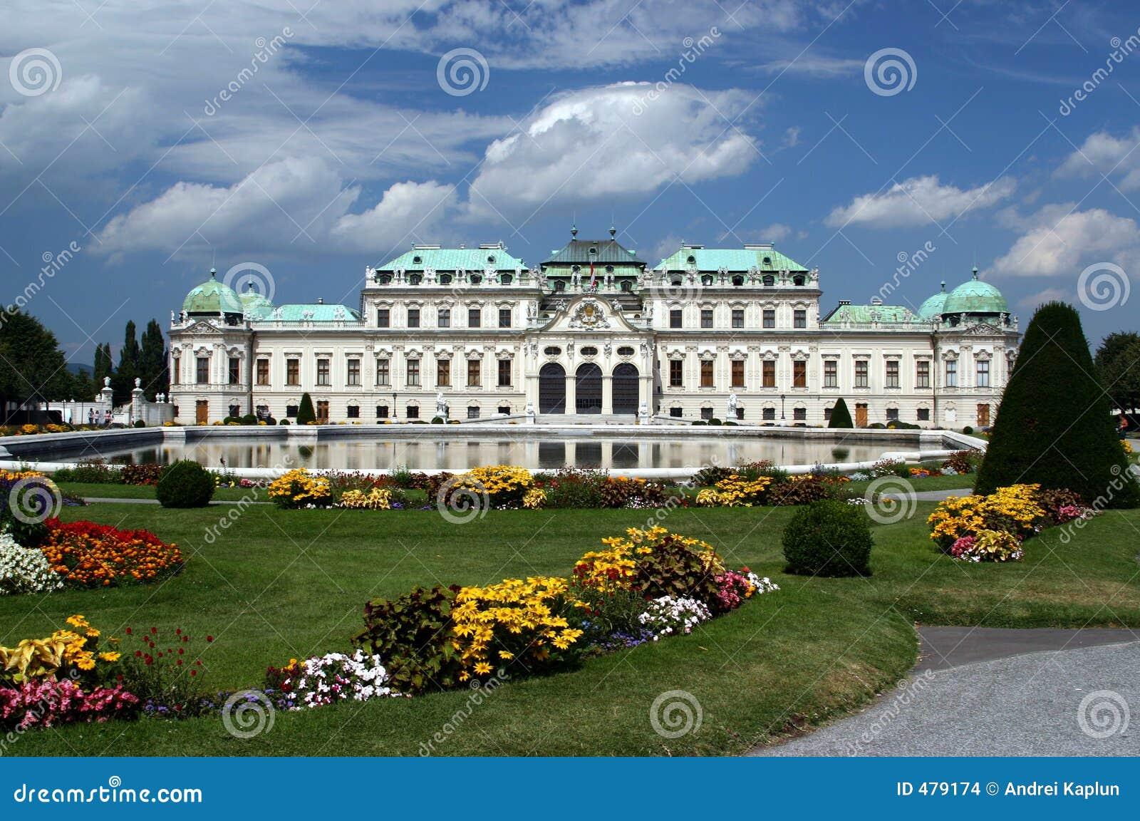 Castelo do Belvedere em Viena