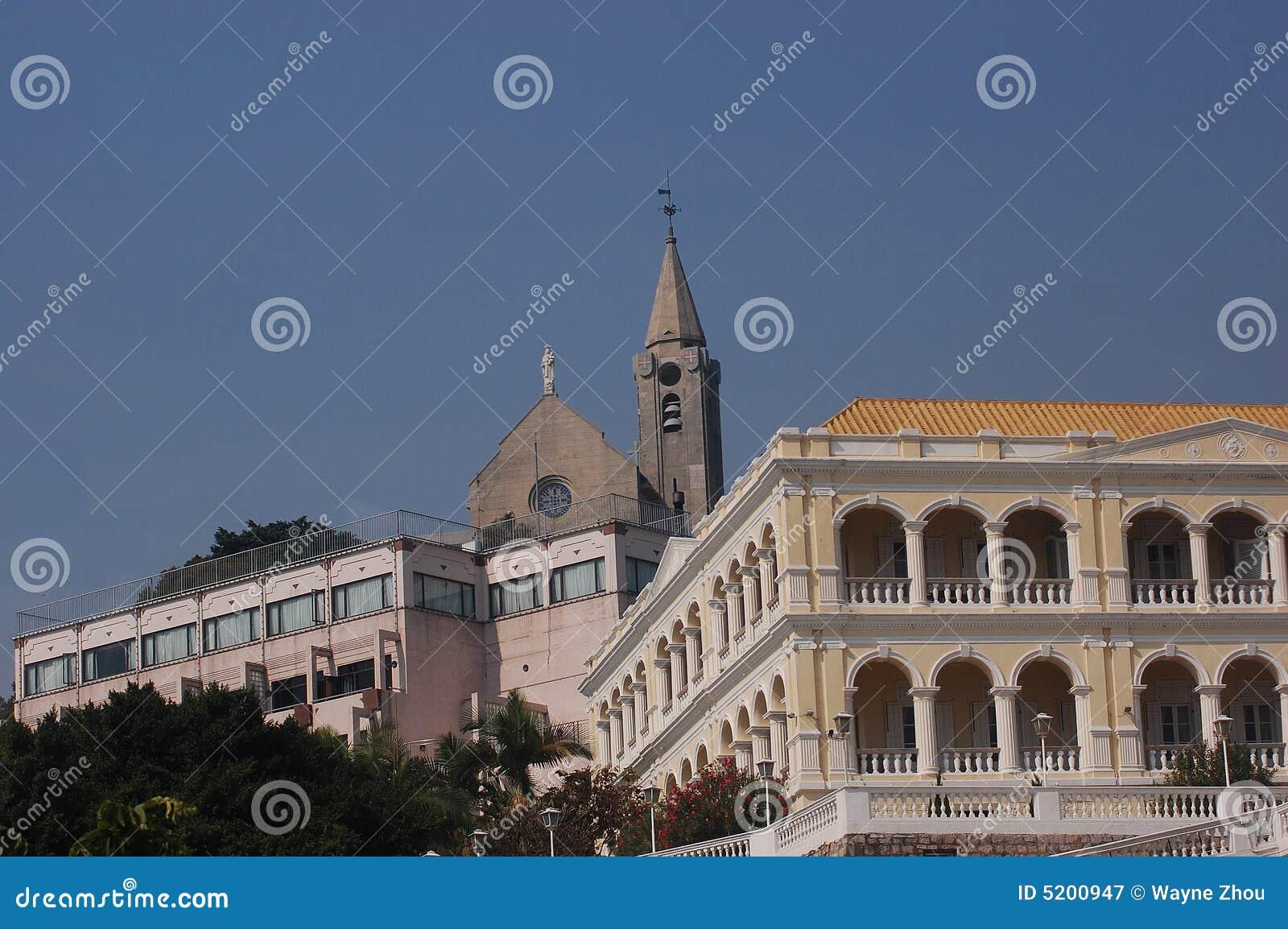 Castelo em Macau