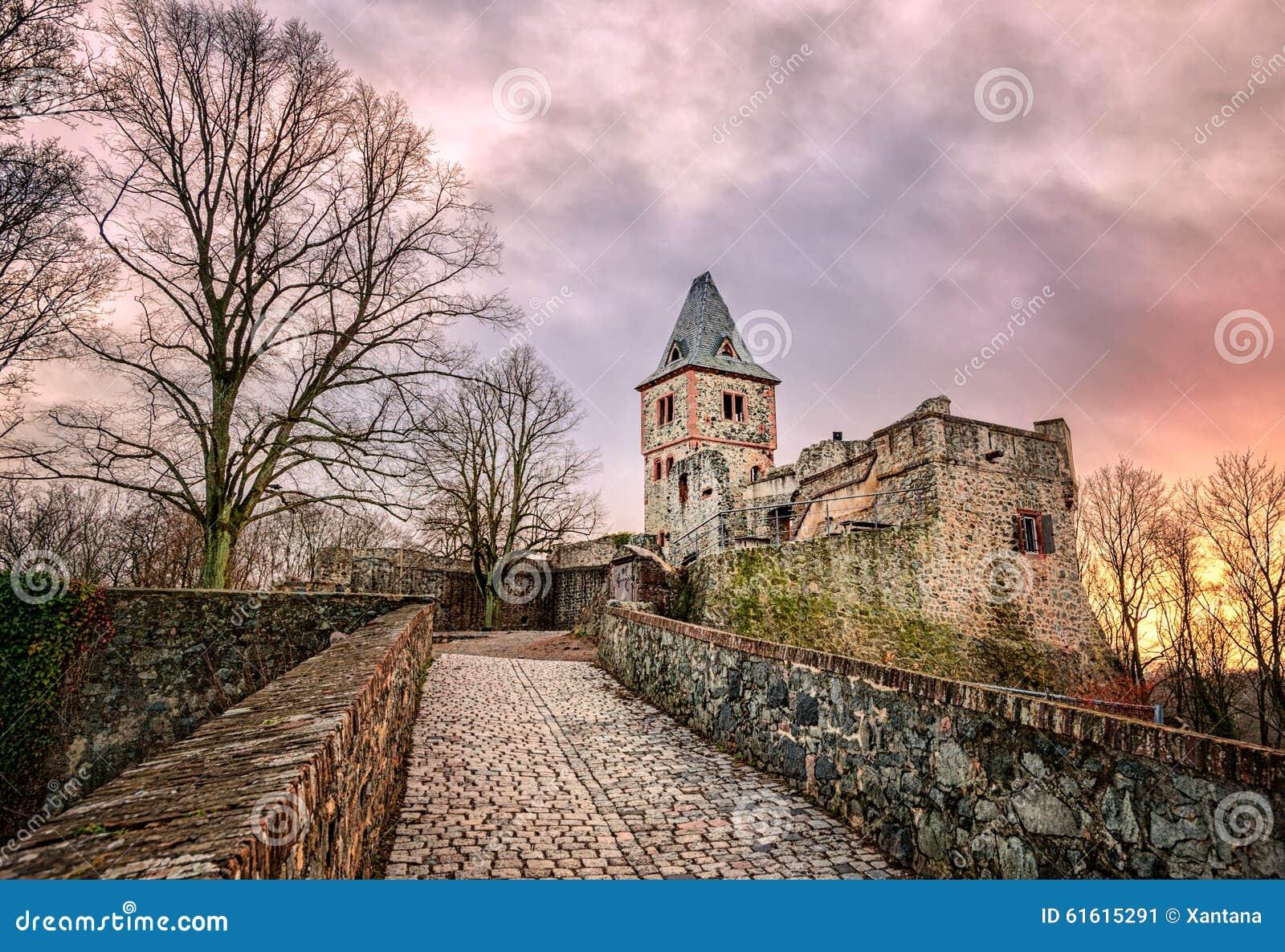 Castelo Frankenstein, Darmstadt, Alemanha