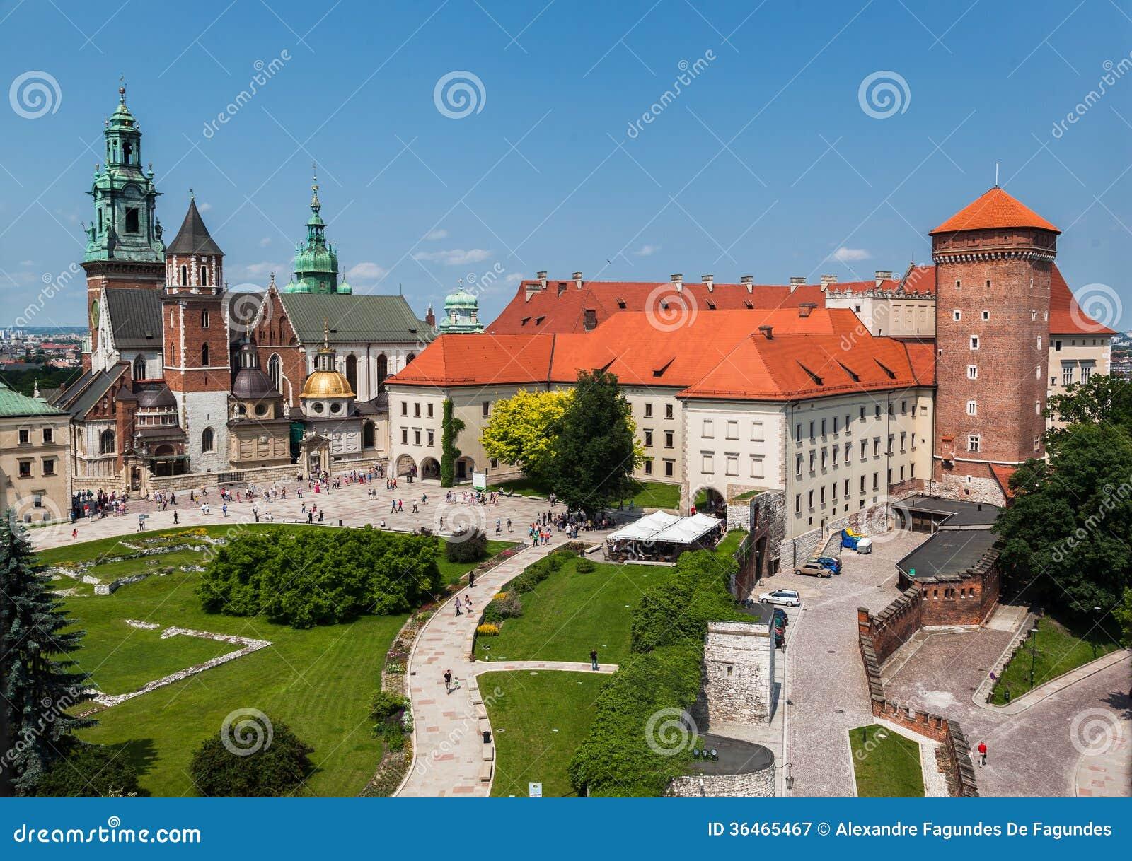 Castelo Krakow de Wawel
