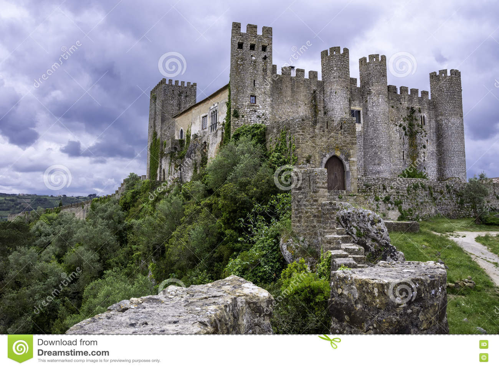 Castelo medieval, Portugal