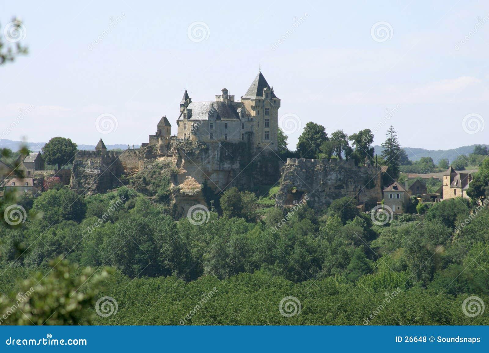 Castelo no Dordogne em France