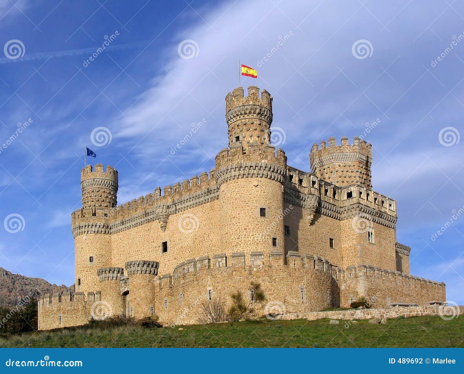 Castelo real 2 do EL de Manzanares
