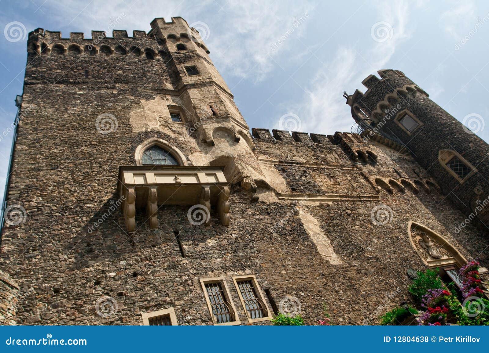 Castelo velho em Alemanha