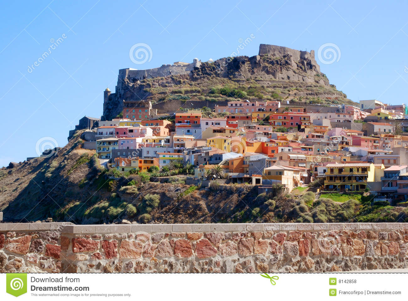 Castelsardo Royalty Free Stock Photos Image 8142858