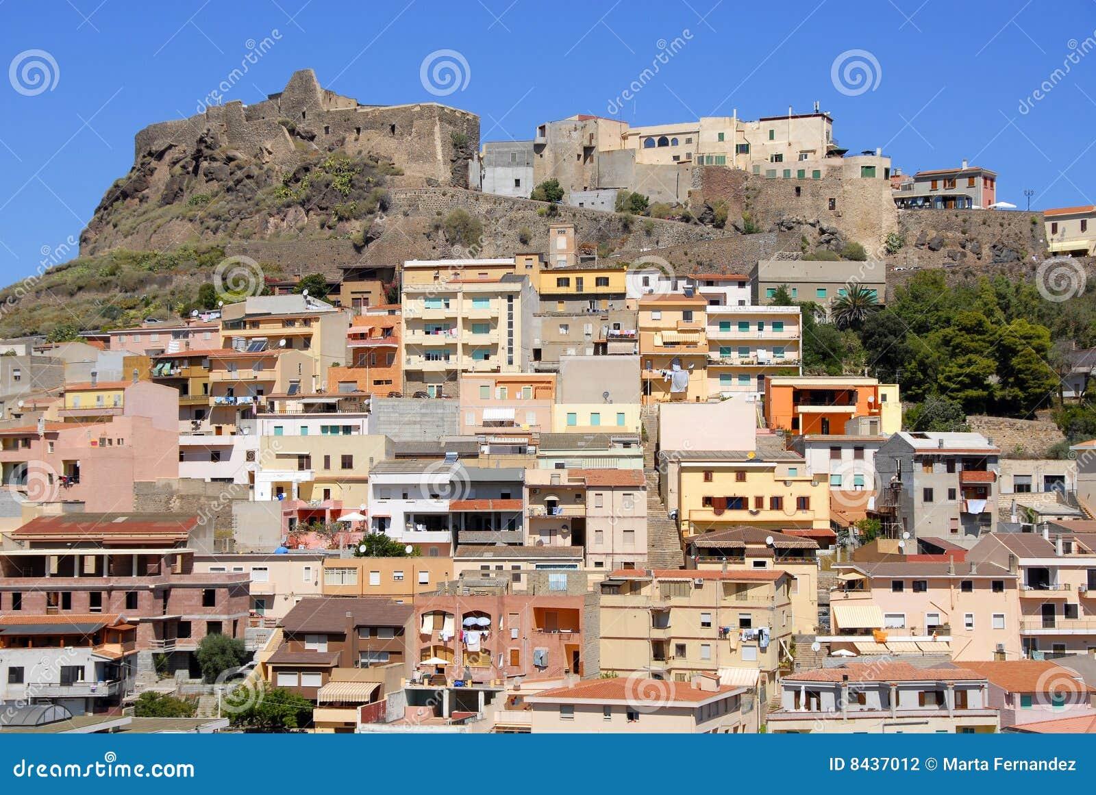 Castelsardo Italy  city photos : Castelsardo, Sardinia, Italy Stock Photography Image: 8437012